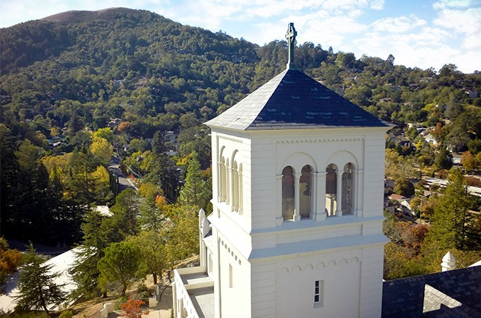 """""""I was completing something that was aligned with who I was supposed to be and what I was supposed to do with my life,"""" says Sue Gibbons '04 of the Diploma in the Art of Spiritual Direction program at the San Francisco Theological Seminary (above)."""
