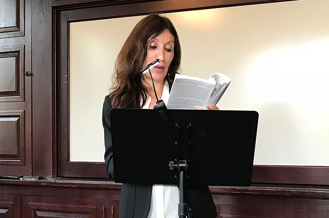 Author Francesca Block Reads her works