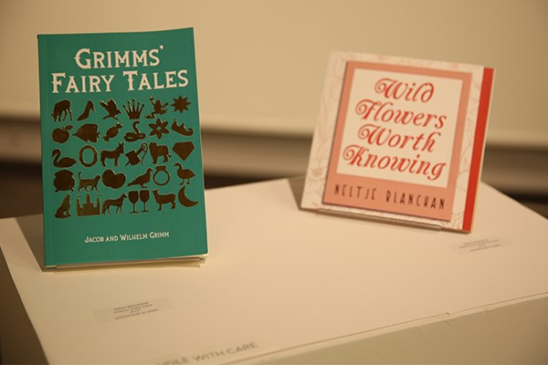"Tiffani Moorehead presents bound books she created as ""an exercise in lettering, book art, and patience."""