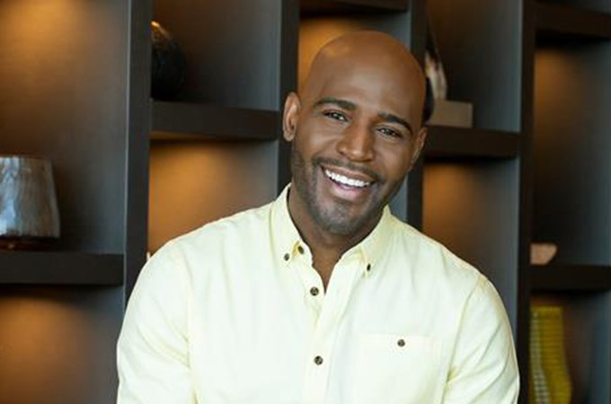"""""""What you have and who you are is enough,"""" reality-television personality and mental health advocate Karamo Brown tells U of R students. (Image courtesy of Karamo Brown)"""