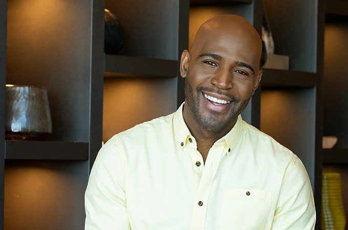 """What you have and who you are is enough,"" reality-television personality and mental health advocate Karamo Brown tells U of R students. (Image courtesy of Karamo Brown)"