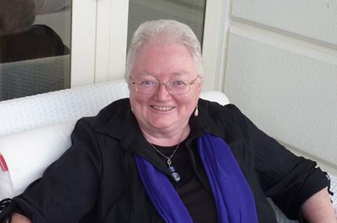 Rev. Janis Huggett '70 (B.A.) and '87 (D.Min.) says she benefitted from academic excellence paired with support for personal growth at both U of R and San Francisco Theological Seminary, laying the foundation for many accomplishments.