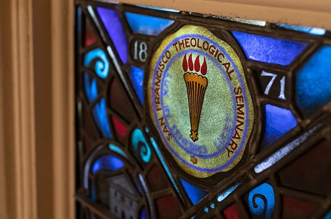 """""""The new Board of Directors will provide spiritual and ecclesiastical leadership to the seminary,"""" says Rev. Jana Childers, Ph.D., dean of the U of R Graduate School of Theology, home of SFTS. (Photo by Cali Godley)"""
