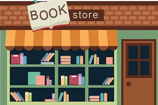 Clip art book store