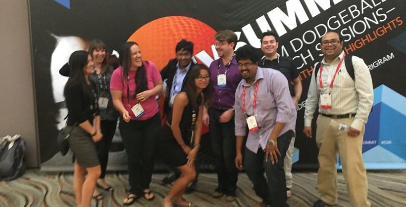 Students at Dev Summit
