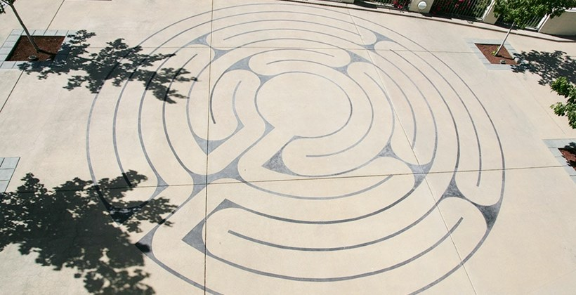 Geneva Terrace Labyrinth