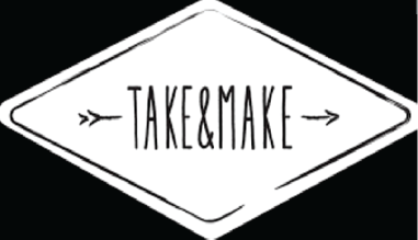 Take and Make logo