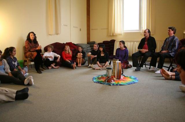 Tasnim Fernandez teaching about Sufi Culture