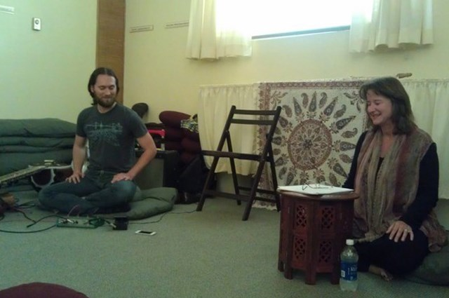 Sean Longstreet and Fran Grace offer a session on Sufi Poetry and Meditative Music.