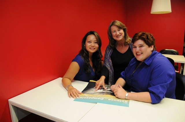 Fran Grace, Celine Ko and Lisa Olson
