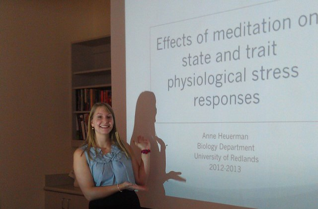 Anne Heuerman Honors thesis on meditation