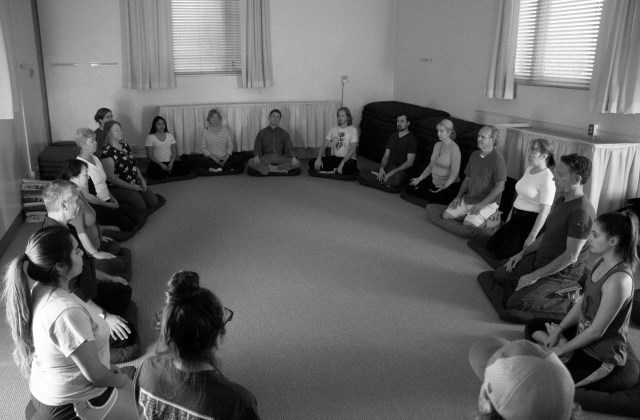 Mindfulness and Zazen led by Lorenzo Garbo.