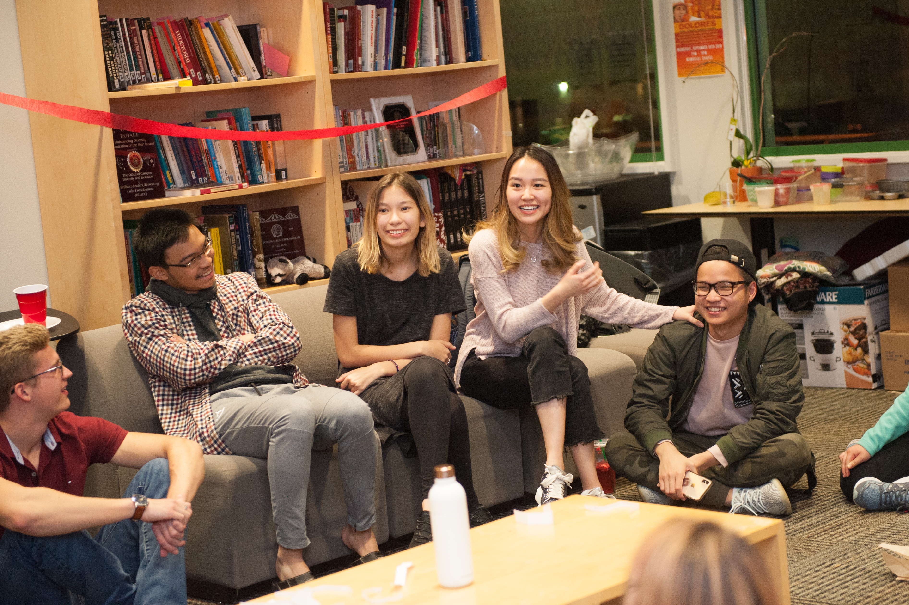 International Students at the Diversity and Inclusion Center