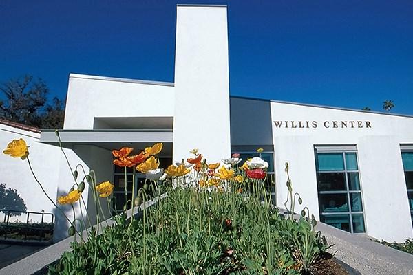 exterior view of willis center