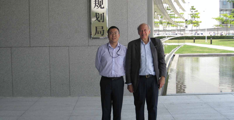 James Pick meeting Wan Yue Run