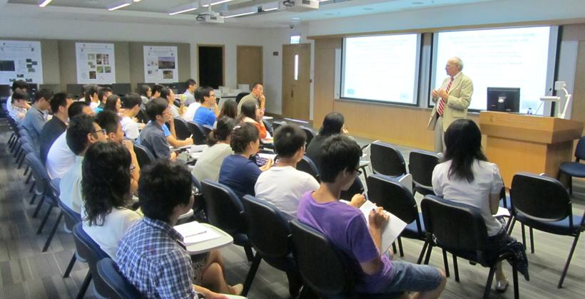 James Pick Lecturing at university of Hong Kong