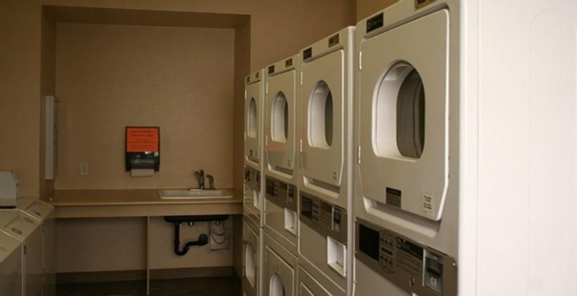 Brockton Apartments Laundry Room