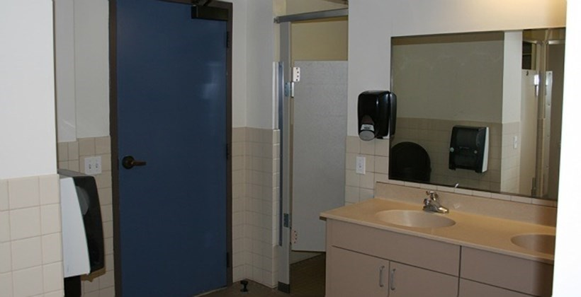 California Hall Bathroom