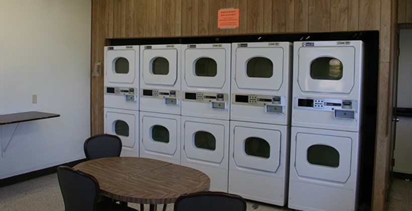 East Hall Laundry room