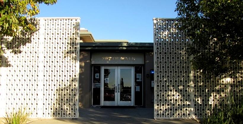 North Hall Front