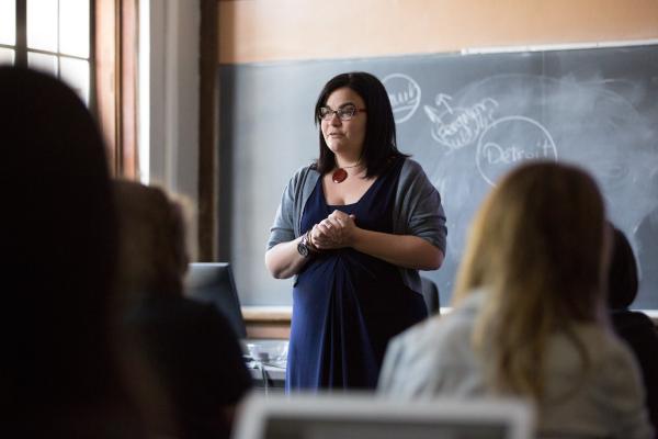 Kathy Feeley teaching