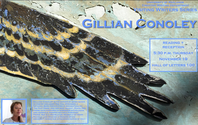 Visiting Writers Series Gillian Conoley